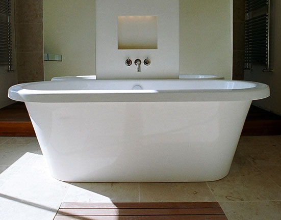Bath Bathroom Louis Baker Construct  Residential  Boltons House